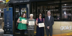 Stagecoach in South Wales celebrates local heroes in Torfaen